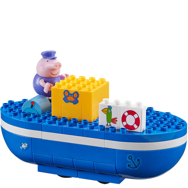Peppa Pig Construction: Grandpa Pig's Boat Set