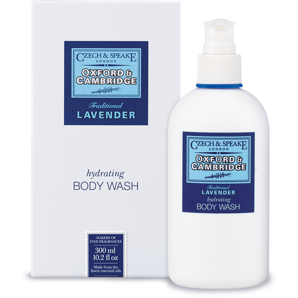 Savon liquide hydratant pour le corps Body Wash Oxford et Cambridge Czech & Speake