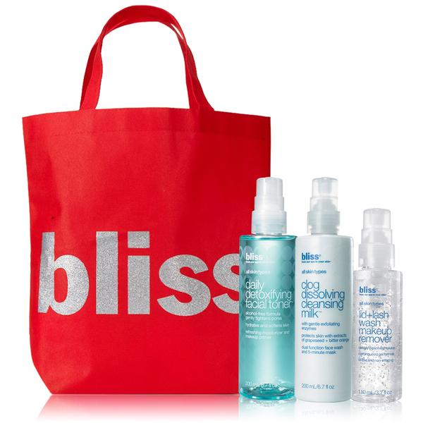 bliss Summer Skin Detox Kit (Worth $62.70)