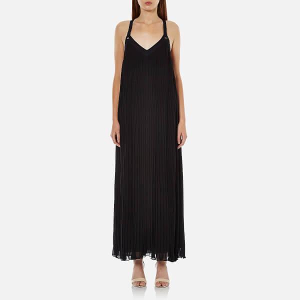 MICHAEL MICHAEL KORS Women's Pleated Grommet Dress - Black
