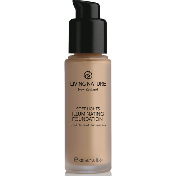 Living Nature Glow Illuminating Foundation 30 ml - forskjellige nyanser