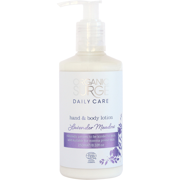 Organic Surge Lavender Meadow Hand and Body Lotion (250ml)