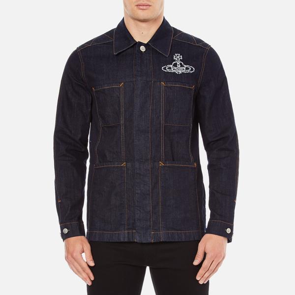Vivienne Westwood Anglomania Men's Workers Jacket - Blue Denim