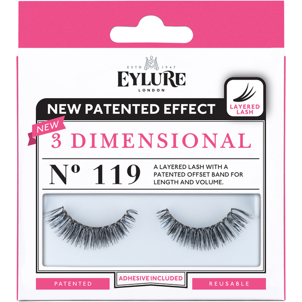 Eylure 3 Dimensional Lashes N° 119