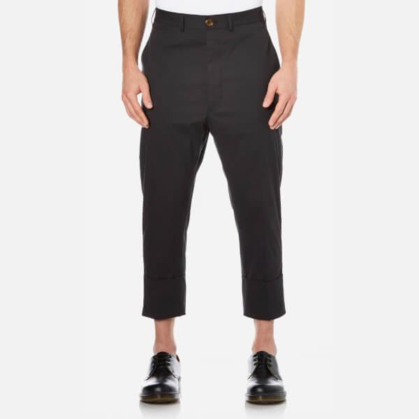 Vivienne Westwood MAN Men's James Bond Cropped Trousers - Black