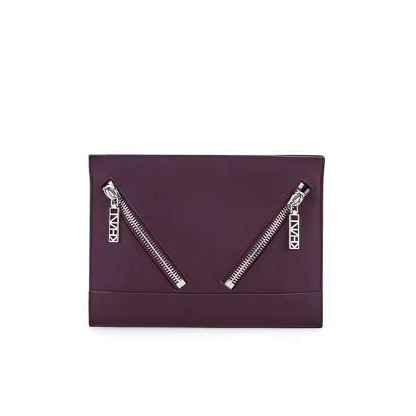 KENZO Women's Kalifornia Clutch - Bordeaux