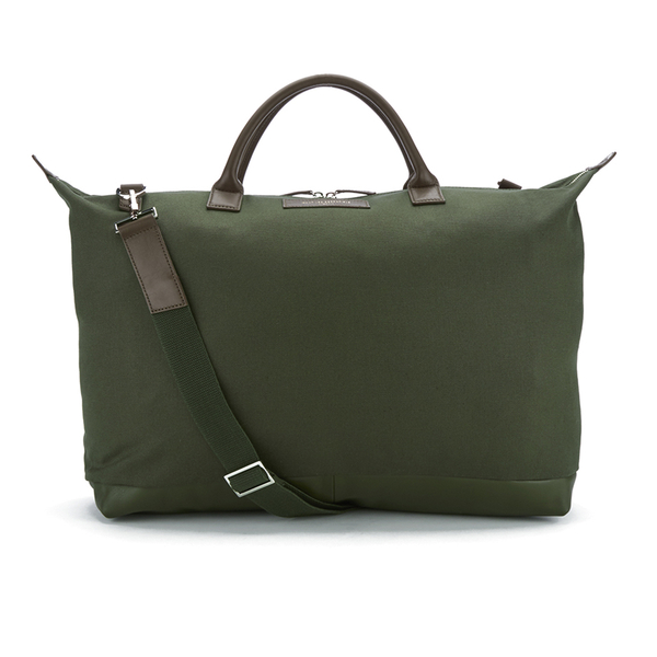 WANT LES ESSENTIELS Men's Hartsfield Weekender Tote - Olive/Gunmetal