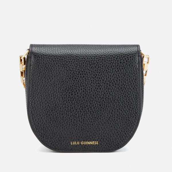 e9443636ea05 Lulu Guinness Women s Amy Small Crossbody Bag - Black  Image 6
