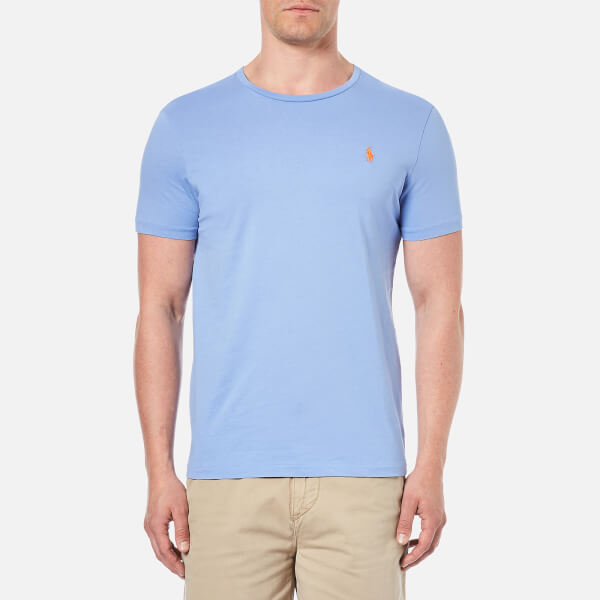 Polo Ralph Lauren Men's Crew Neck T-Shirt - Dress Shirt Blue: Image 1