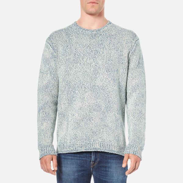 Polo Ralph Lauren Men's Crew Neck Knitted Jumper - Blue