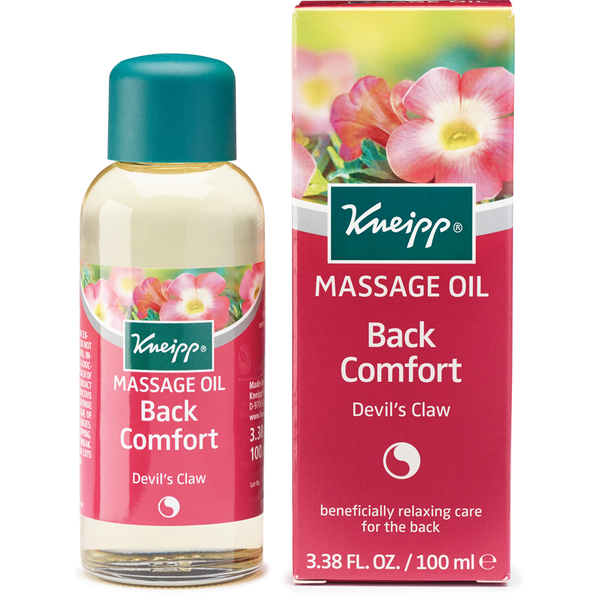 Huile de massage confort du dos Devil's CLaw de Kneipp (100 ml)