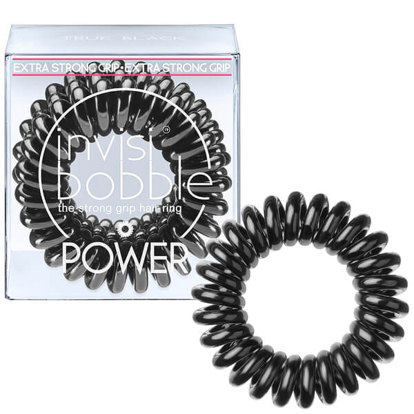 invisibobble Power Haargummi (3er-Packung) - True Black