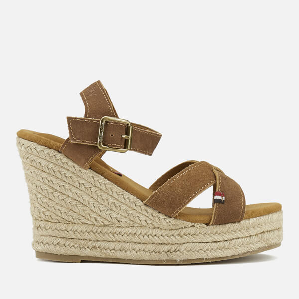 Superdry Women's Isabella Wedged Espadrilles - Tan