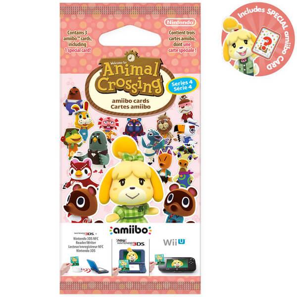 Animal Crossing amiibo Cards Pack - Series 4