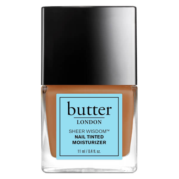 butter LONDON Sheer Wisdom Nail Tinted Moisturizer 11ml - Tan