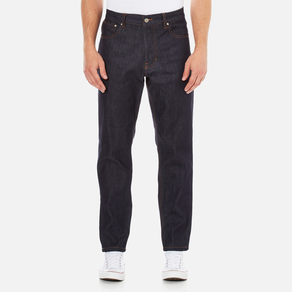 AMI Men's Carrot Fit Jeans - Indigo