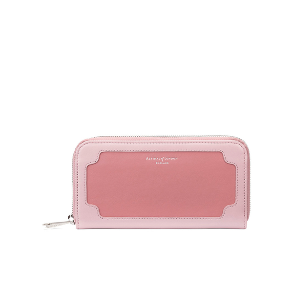 Aspinal of London Women's Marylebone Purse - Dusky Pink/Rose Dust