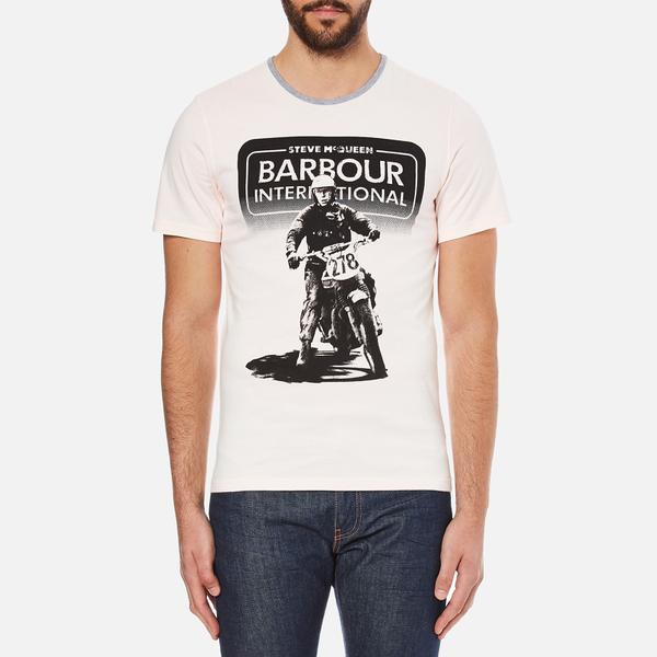 Barbour X Steve McQueen Men's Camber T-Shirt - Cream