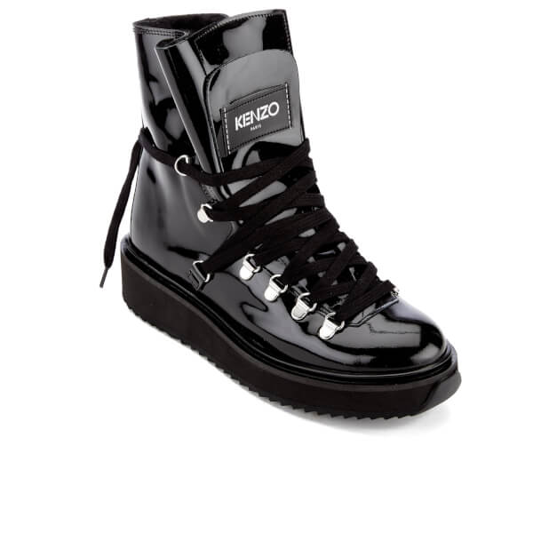 Latest For Sale Kenzo Women's Alaska Patent Leather Boots Cheap Sale Get Authentic hStBqn