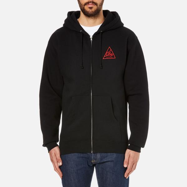 OBEY Clothing Men's Next Round 2 Zip Hoody - Black