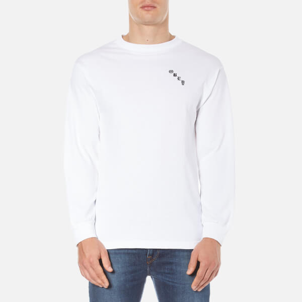 OBEY Clothing Men's Spider Rose Long Sleeve T-Shirt - White