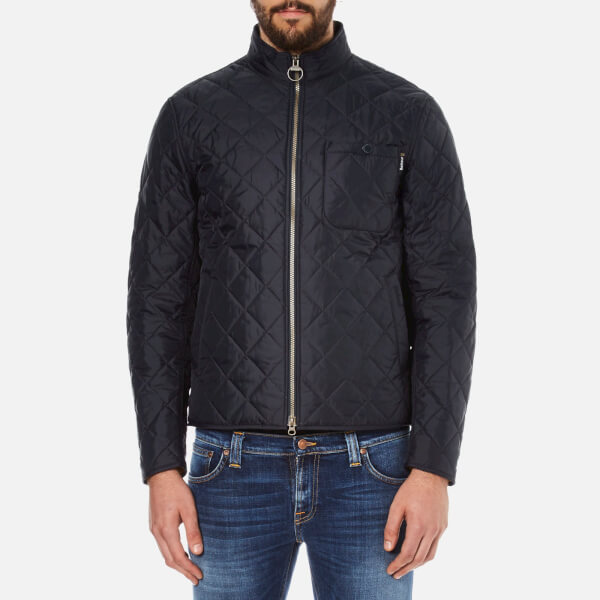 Barbour International Men's Axle Quilt Jacket - Navy