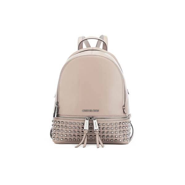 MICHAEL MICHAEL KORS Rhea Zip Stud Backpack - Grey
