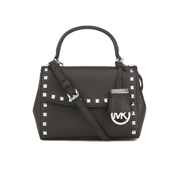 5e770bc6e6e1 MICHAEL MICHAEL KORS Ava Stud Mini Crossbody Bag - Black: Image 1