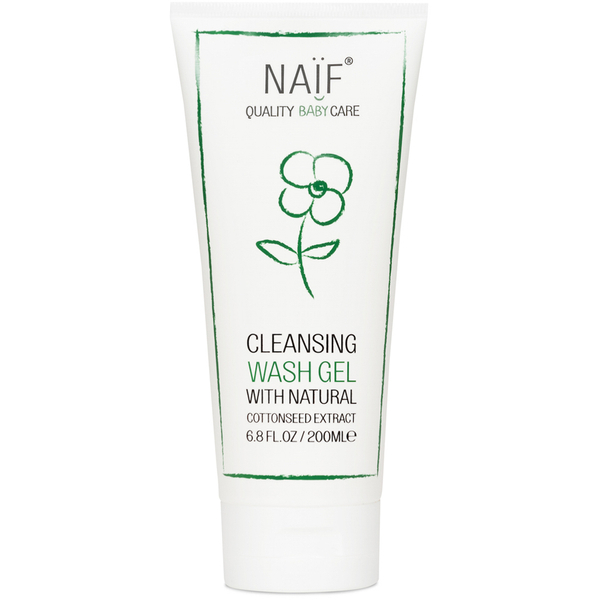 NAÏF Cleansing Baby Wash Gel (200 ml)