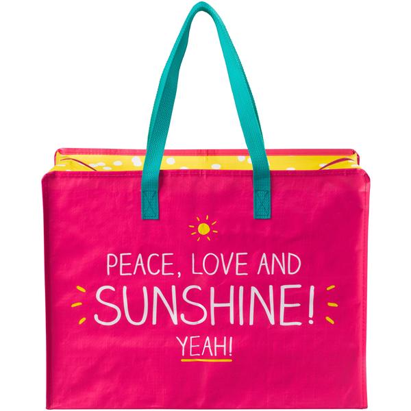 Sac de Course Peace Love and Sunshine - Happy Jackson