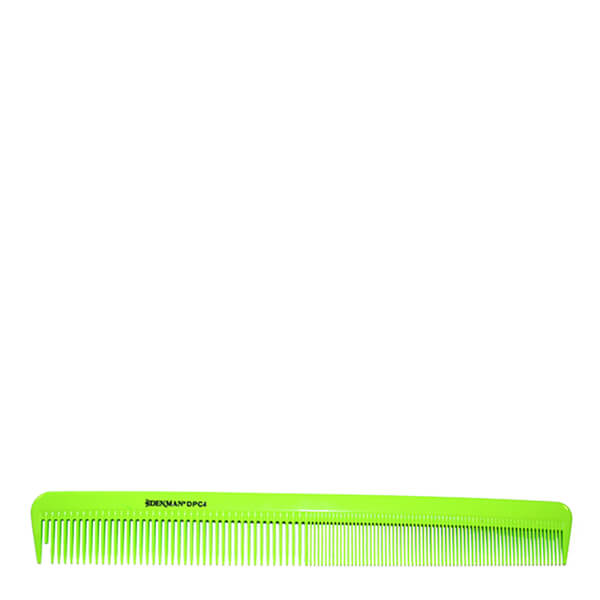 Denman Precision Military Comb - Lime Green