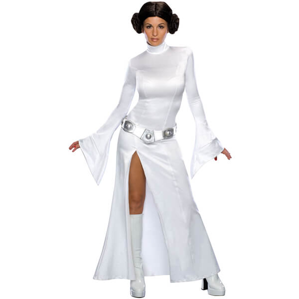 Star Wars Women's Sexy Princess Leia Fancy Dress