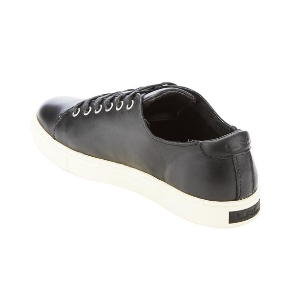2cd9d12b8 Lauren Ralph Lauren Women s Waverly Leather Trainers - Black  Image 4