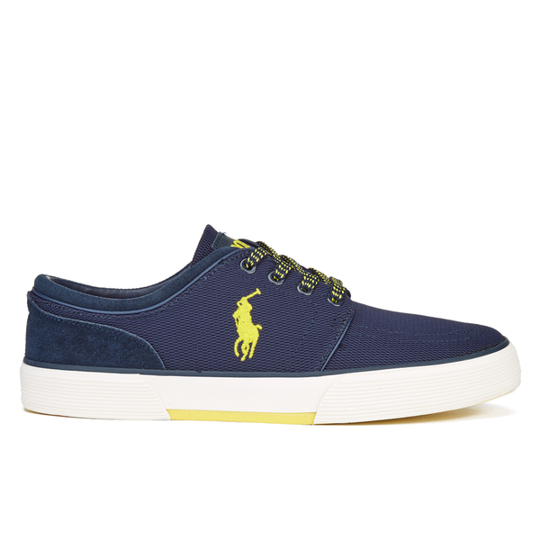 Polo Ralph Lauren Men's Faxon Low Top Trainers - Navy