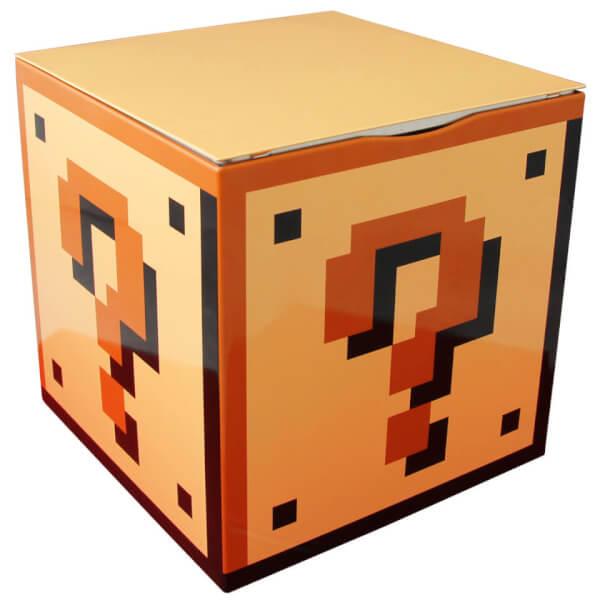 Super Mario Bros. Question Mark Block Storage Tin