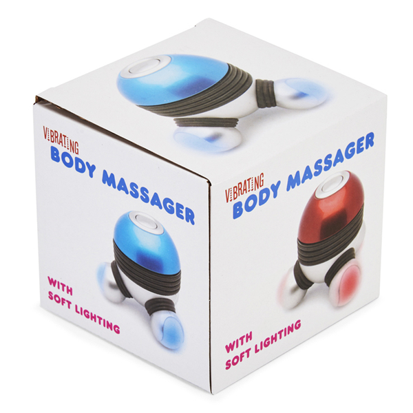 Vibrating Body Massager with LED Lighting
