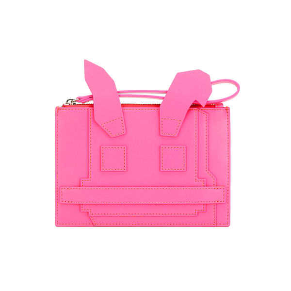 McQ Alexander McQueen Women's Electro Bunny Pouch - Pink