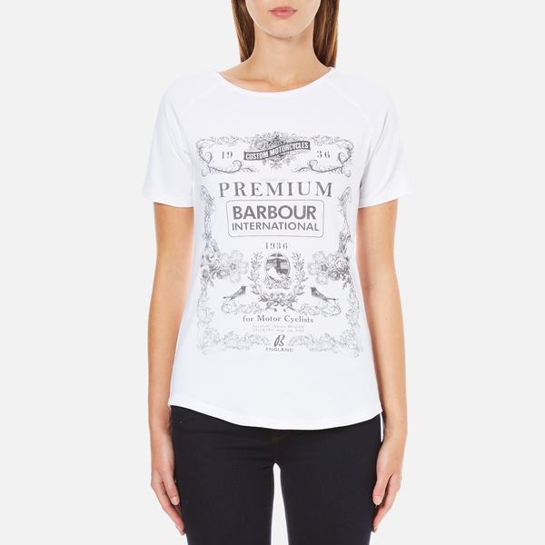 Barbour International Women's Charade T-Shirt - White