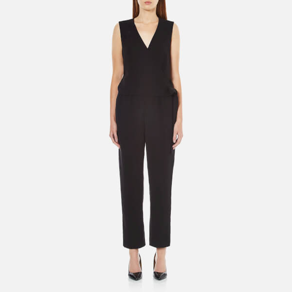 Street Light Theory: Theory Women's Alvmie Admiral Crepe Light Jumpsuit