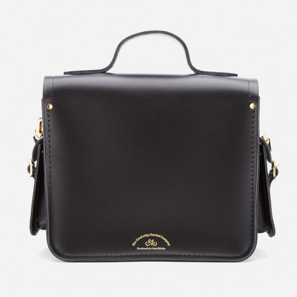 d8f120b5a37a6 The Cambridge Satchel Company Women s Large Traveller Bag with Side Pockets  - Black  Image 6
