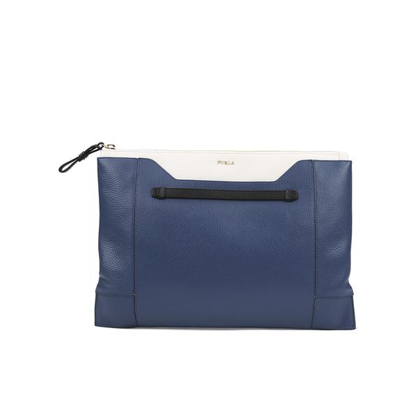Furla Women's Fantasia XL Pochette Clutch Bag - Blue