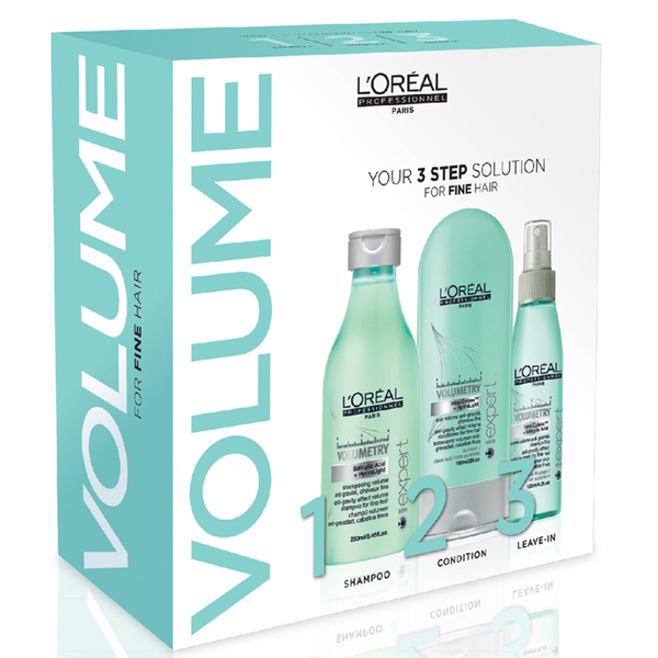 L'Oreal Professionnel S?rie Expert Volumetry 3 Step Kit