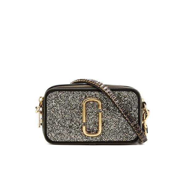 Marc Jacobs Women's Snapshot Double Take Small Camera Bag - Dark Metal