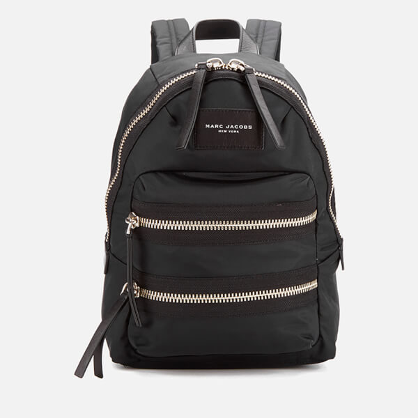 Marc Jacobs Women's Nylon Biker Mini Backpack - Black