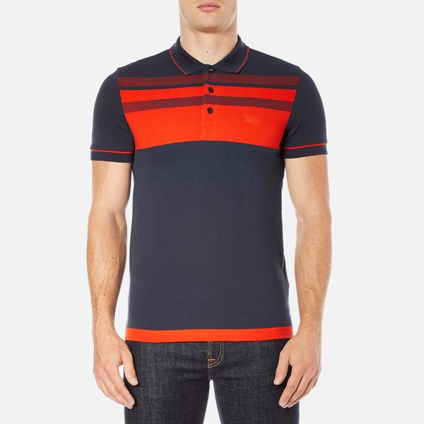 BOSS Green Men's Paule 2 Polo Shirt - Blue