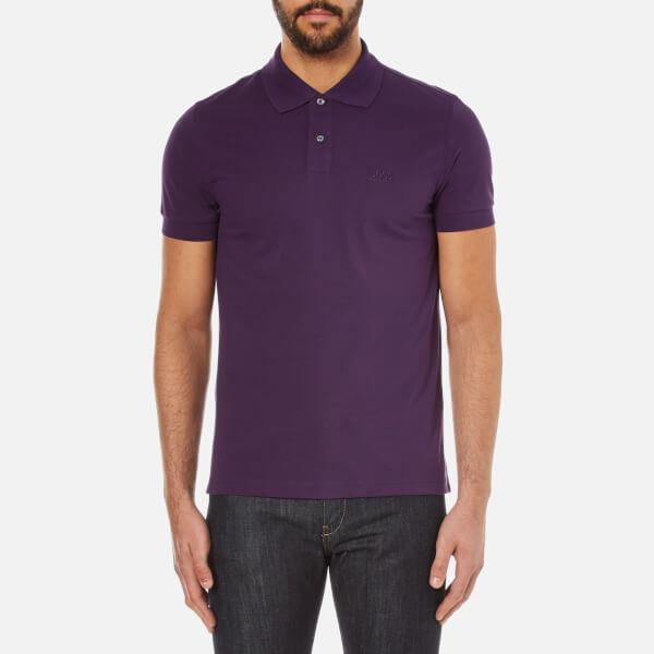 BOSS Green Men's C-Firenze Small Logo Polo Shirt - Purple