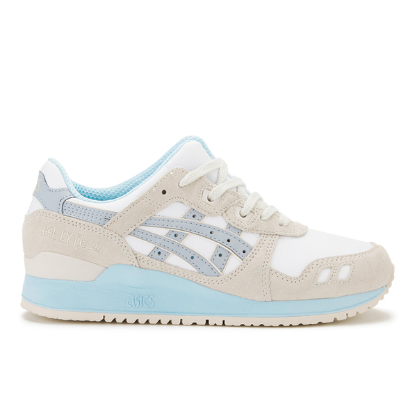 Asics Women's Gel-Lyte III 'Crystal Blue Pack' Trainers - White/Light Grey