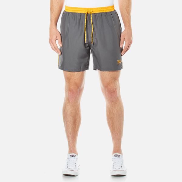 BOSS Hugo Boss Men's Starfish Swim Shorts - Dark Grey