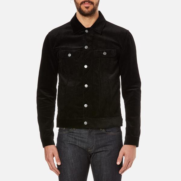A.P.C. Men's Corduroy Jacket - Noir