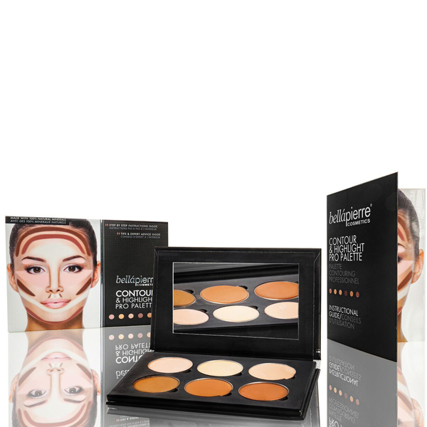 Pro Paleta Contour & Highlight de Bellapierre Cosmetics